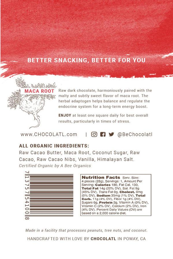 Energy Boost Chocolate Maca Remedy Bites Case of 12 at 25% off