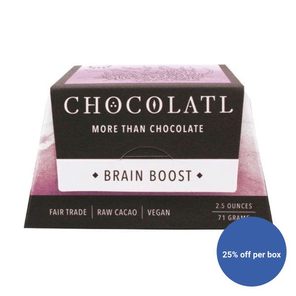 Mushroom + Chocolate Blend, Brain Boost!