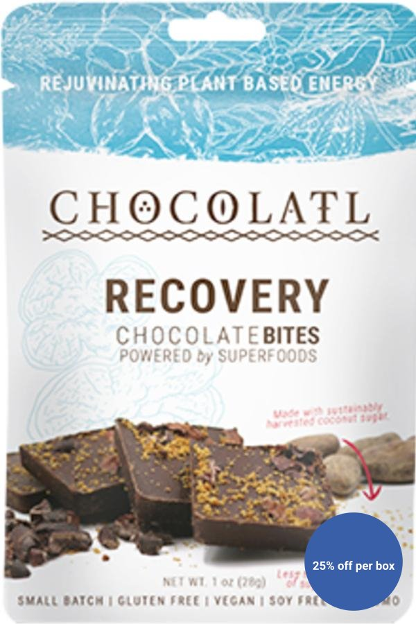 Recovery Chocolate+ Mushroom Blend Remedy Bites