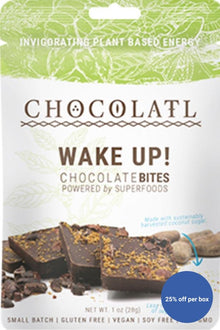 Wake Up! Chocolate+ Coffee Beans Remedy Bites
