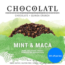 Mint & Maca Chocolate Crunch