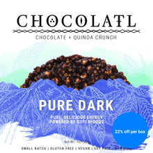 Pure Dark Chocolate Crunch