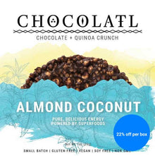 Almond Coconut Chocolate Crispy Crunch