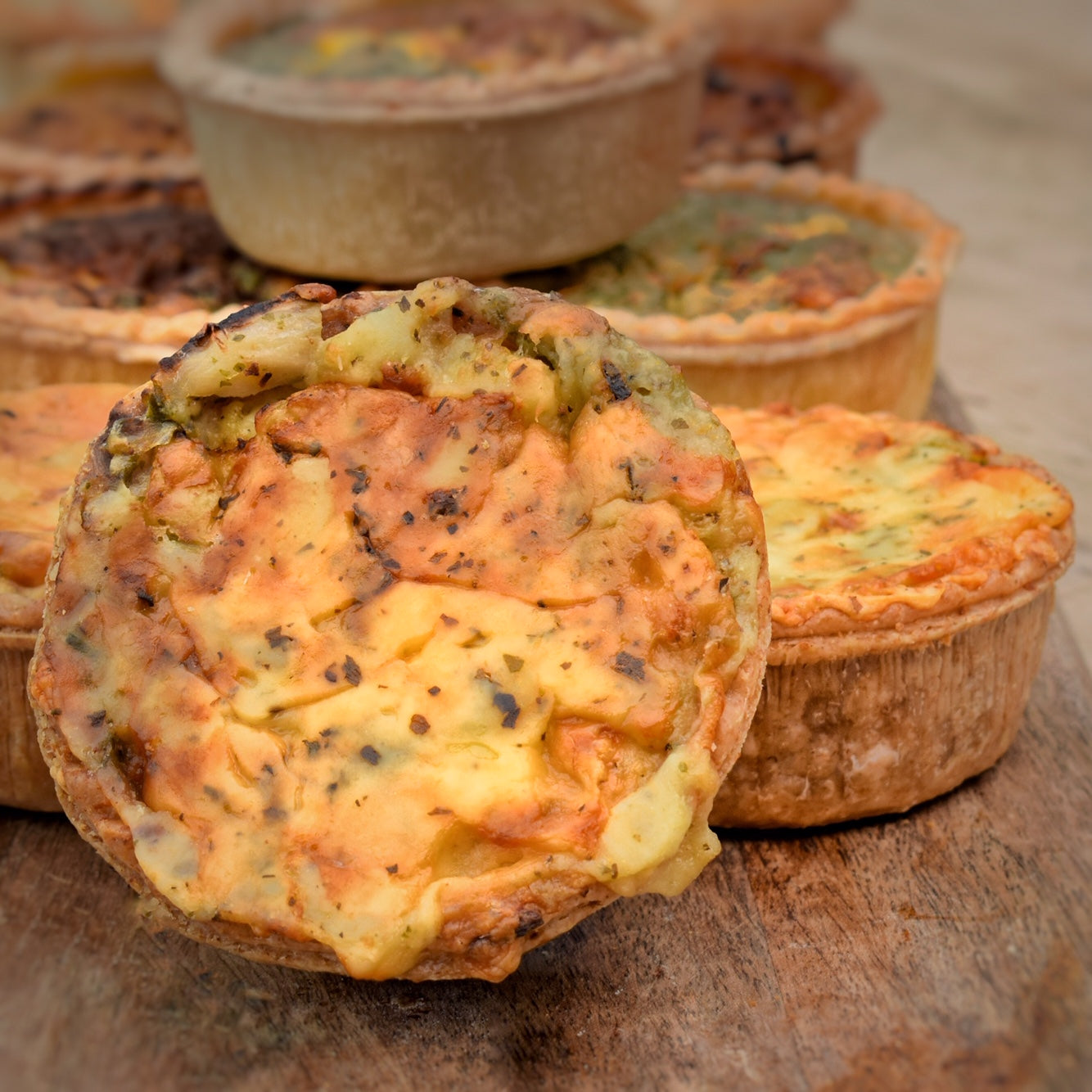 Ham & Leek Tart (packs of 4)
