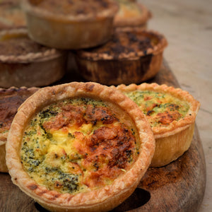 Broccoli & Stilton Quiche (packs of 4)