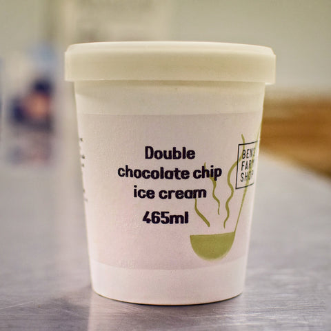 Double Chocolate Chip Ice Cream 465ml