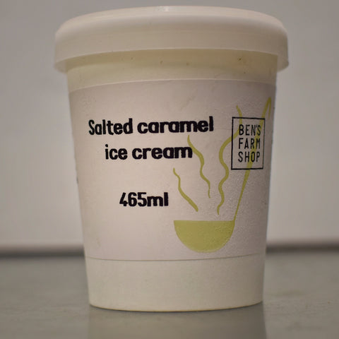 Salted Caramel Ice Cream 465ml