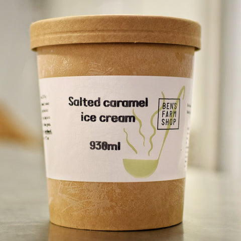 Salted Caramel Ice Cream 930ml