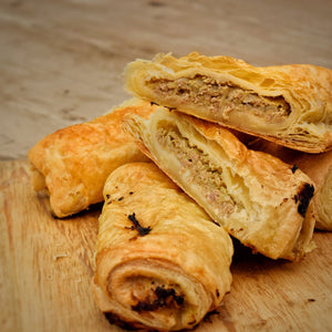 Sausage & Onion Turnover (packs of 4)