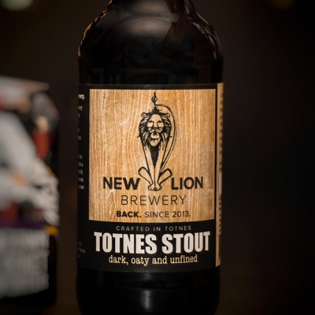 New Lion Brewery Totnes Stout 500ml x 12