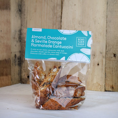 Chocolate & marmalade cantuccini