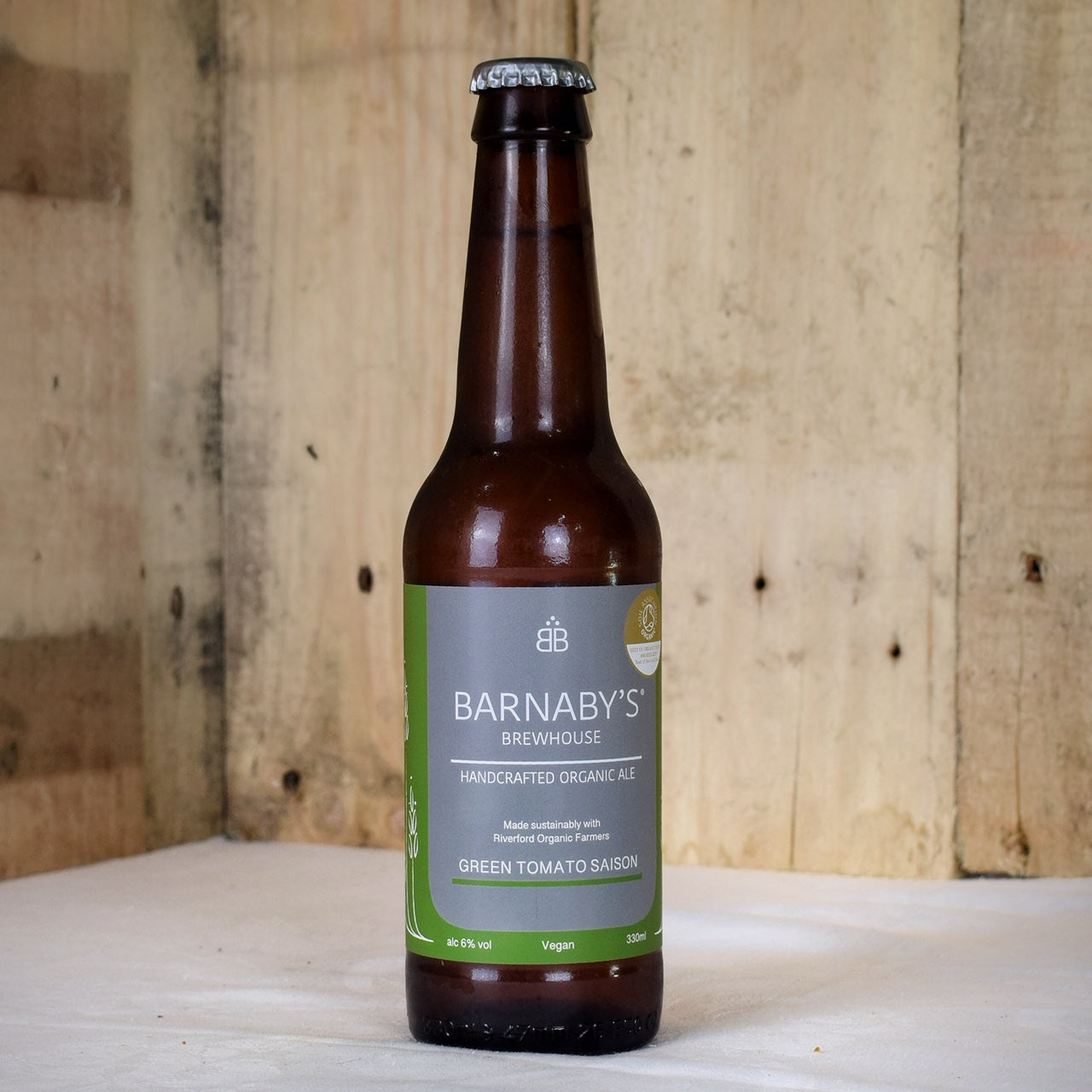 Barnaby's Brewhouse Green Tomato Saison 330ml x 12