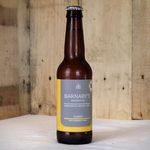 Barnaby's Brewhouse pilsner 330ml x 12