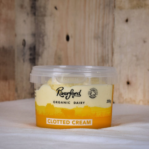 Riverford Dairy clotted cream