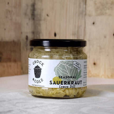 Crock & Cole Seasonal Sauerkraut with Lemon & Dill