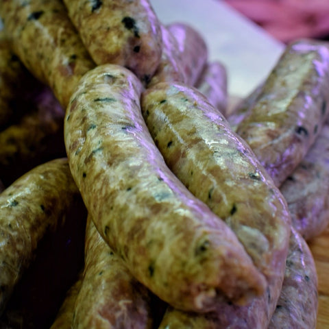 Pork, Coriander & Garlic Sausages (450g packs)