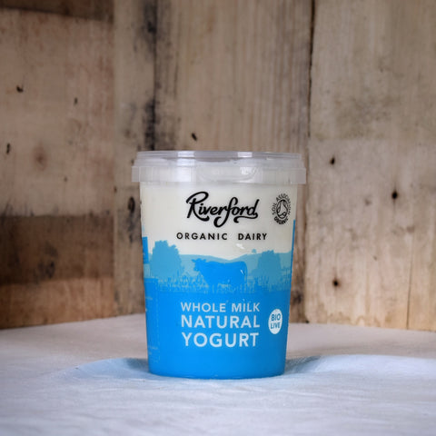 Riverford Dairy yogurt whole milk 475g