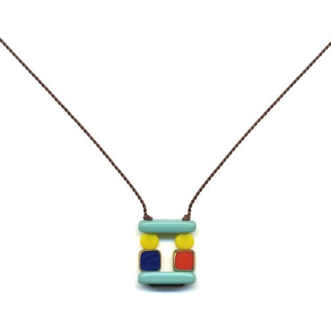 Puzzle Pendant Necklace by I. Ronni Kappos