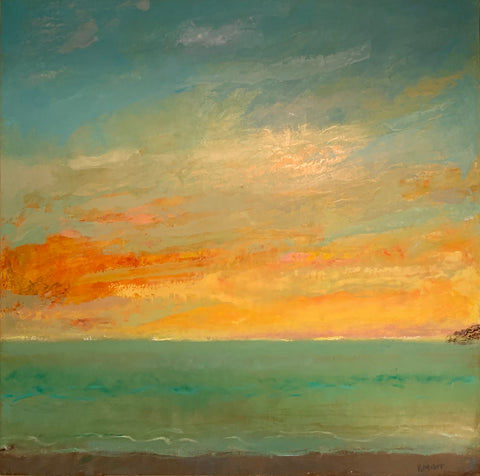 Oil Painting by Rhode Island Artist, R. Michael Carr