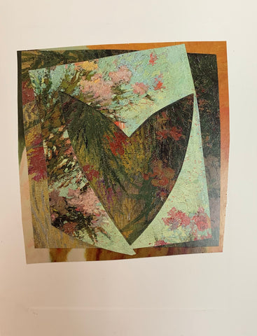 Mixed Media Collage Card by Ellen Mayer