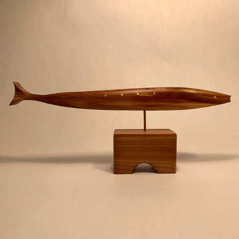 Hand Crafted Fish Sculpture by Peter Tegu