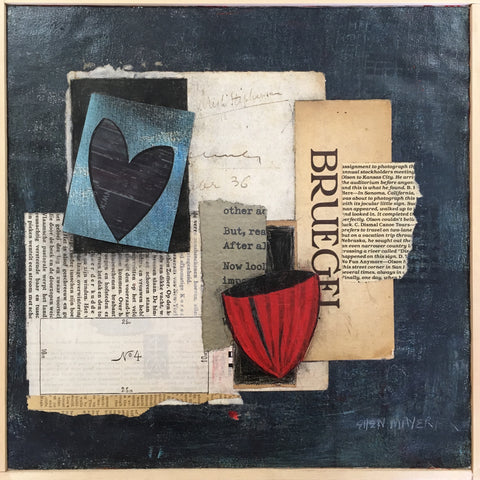 Mixed Media Collage by Ellen Mayer