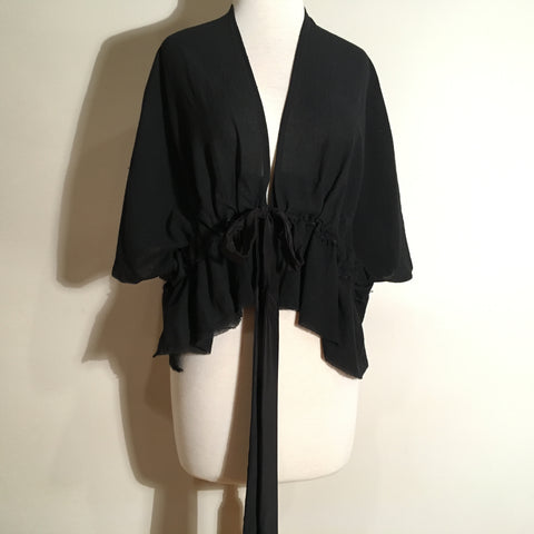 Cotton Gauze and Silk Medina Top by Rachael Levine