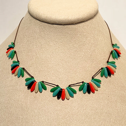 Multi Scallops Necklace by I. Ronni Kappos