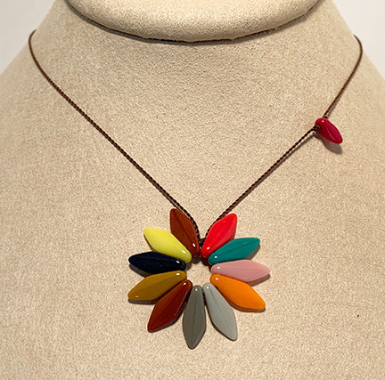Spring Flower Necklace by I. Ronni Kappos