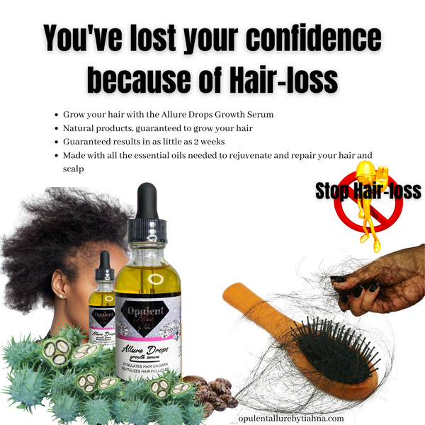 Brittle Confidence blames Hair-loss