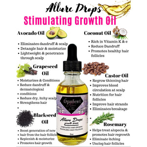 Allure Drops (Stimulating Growth Oil)