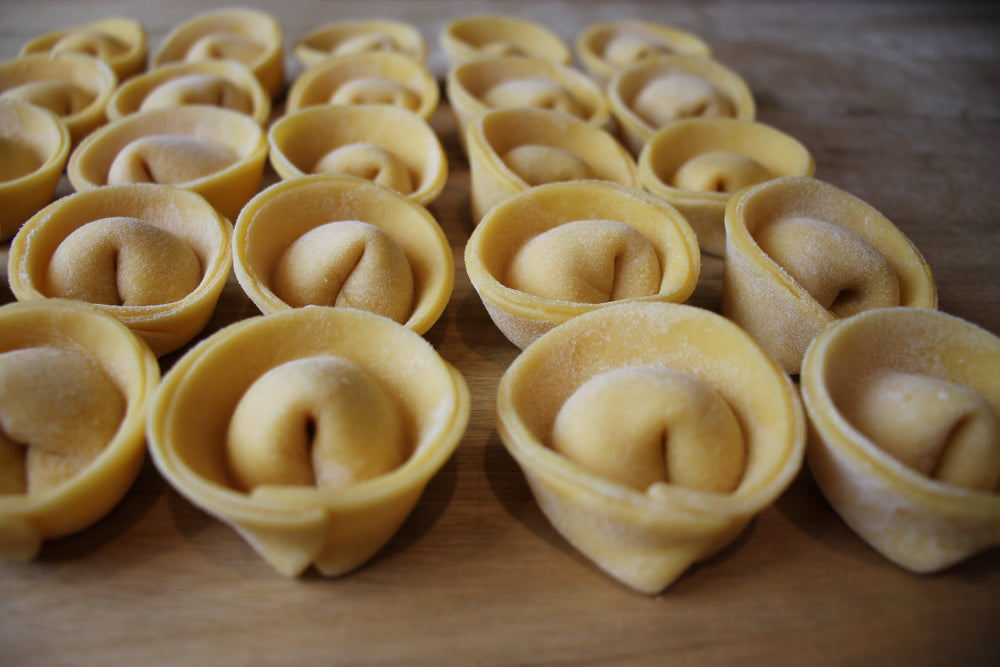 Load image into Gallery viewer, Pumpkin & Goats Cheese Tortellini