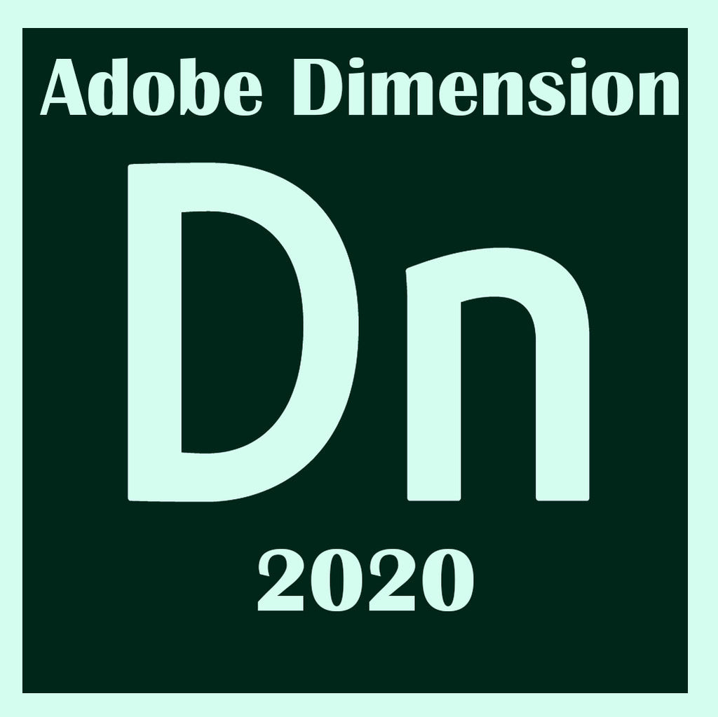 Adobe Dimension CC 2020 lifetime Windows
