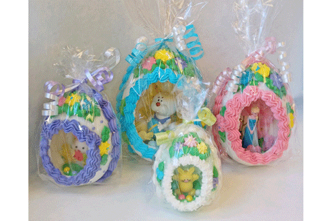 Panoramic Sugar Eggs