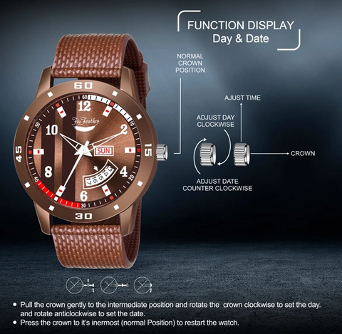 Fly Feather Unique & Premium Analogue Watch (Watch 8)