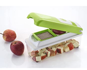 Ezee 5 in 1 Fruit & Vegetable Graters, Slicer, Chipser, Dicer, Cutter, Chopper Vegetable & Fruit Grater & Slicer
