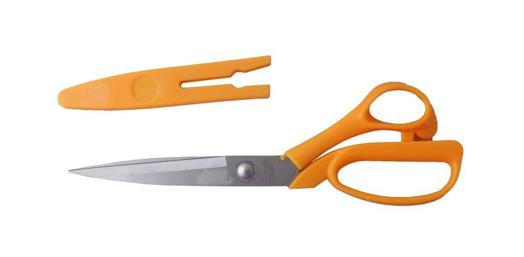 Stainless Steel Scissors with Cover 8inch - Shopping With Deals