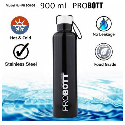 Probott Double wall Vacuum Insulated Stainless Steel Water Bottle PB900-03 - Shopping With Deals