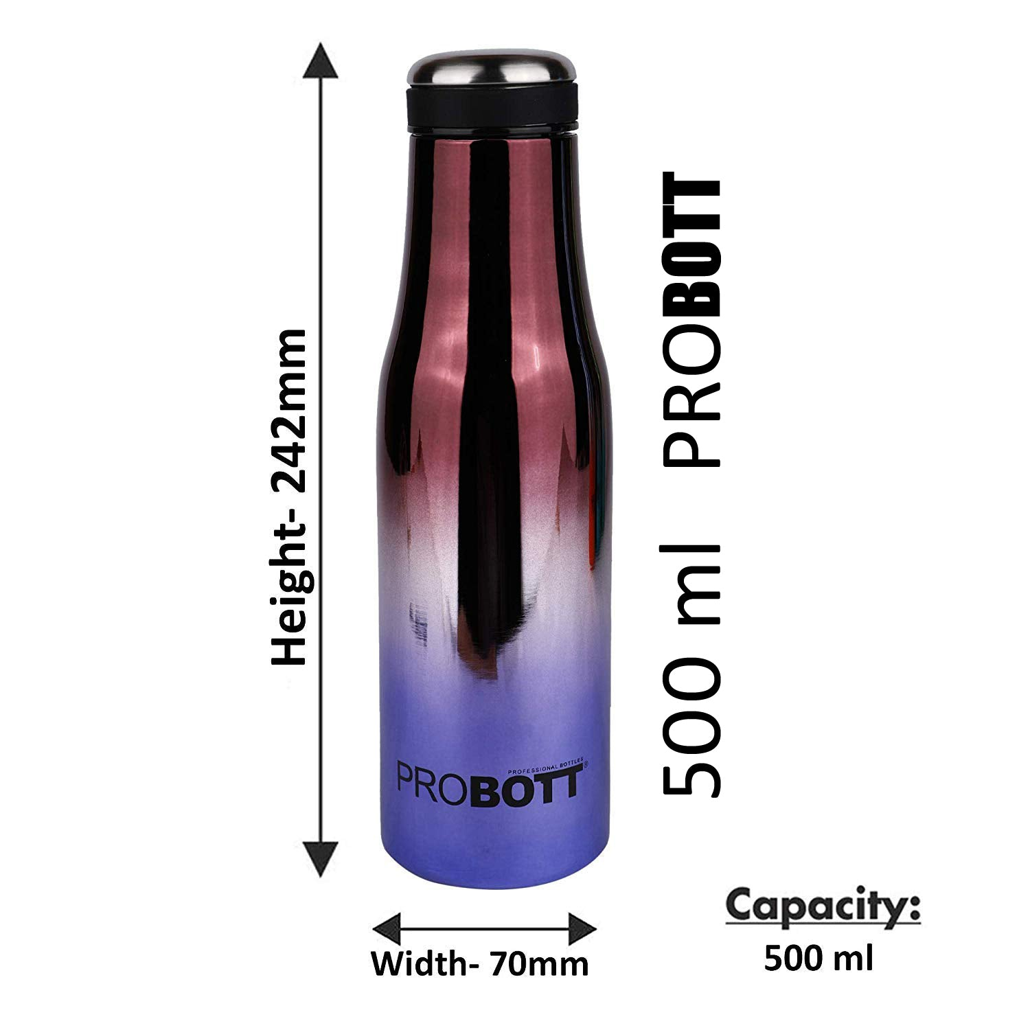 Probott SS Vacuum flask Stainless Steel Water Bottle PB500-32 - Shopping With Deals