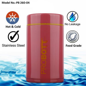 Probott Stainless Still Bottle_PB260-04 - Shopping With Deals