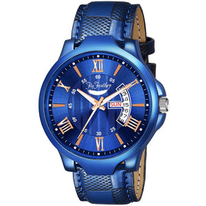 Fly Feather Unique & Premium Analogue Watch Apna Time Ayega Print Multicolour Dial Leather Strap (Watch 7) - Shopping With Deals