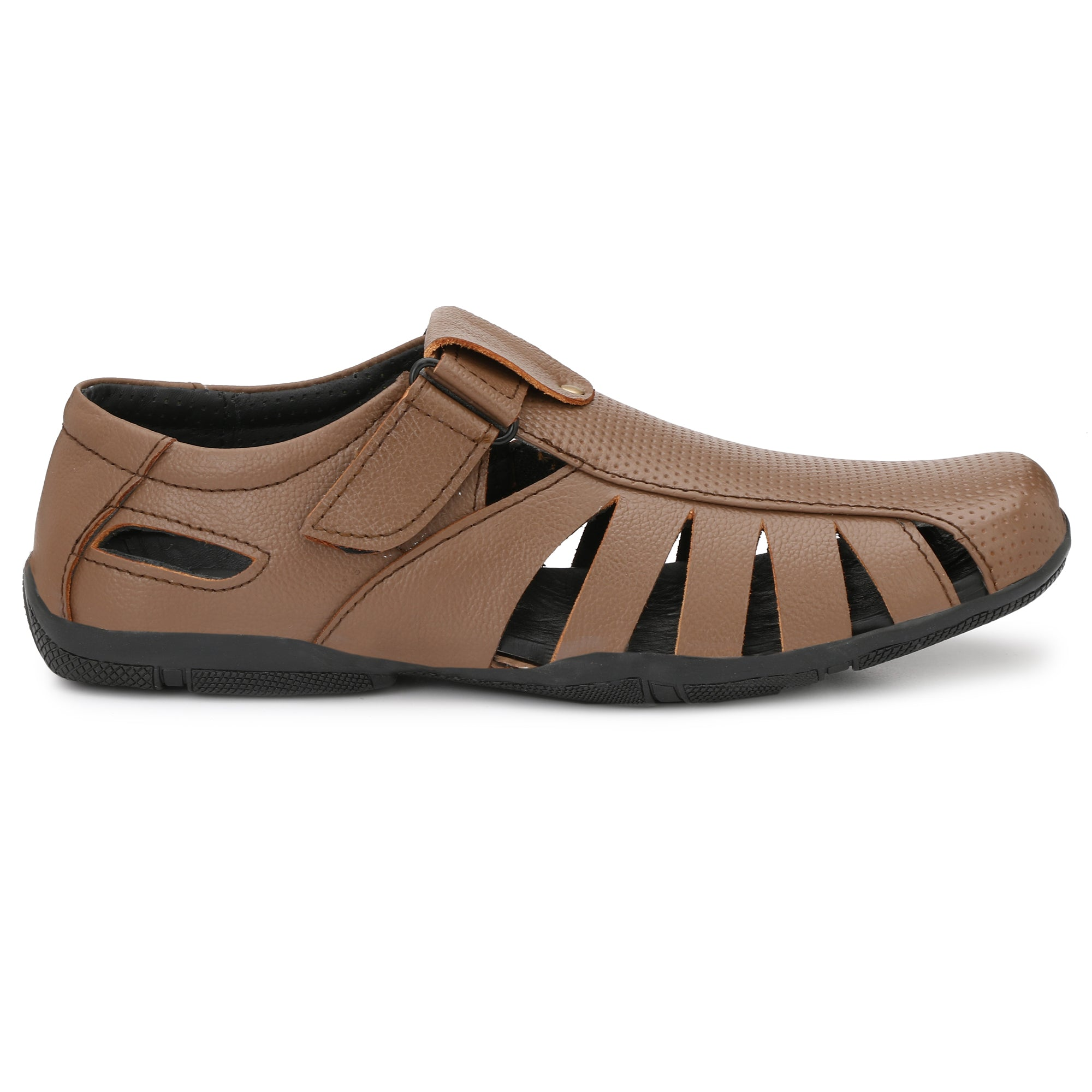 King Karlos Office Formal leather sandals - Shopping With Deals