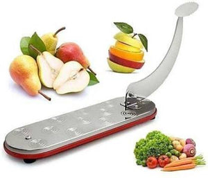 Fly Feather Multipurpose Cut N Chop vegetable and fruit cutter with 1 stainless Steel plate