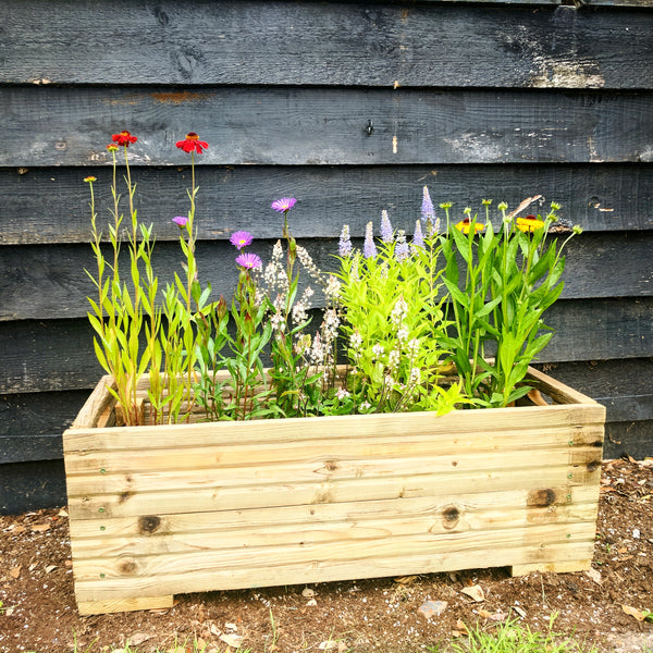 Rustic Wooden Planter Large