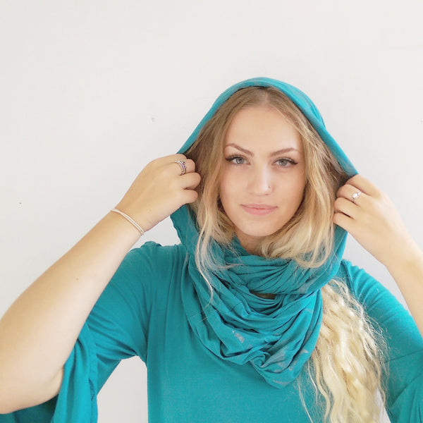 Teal Snood