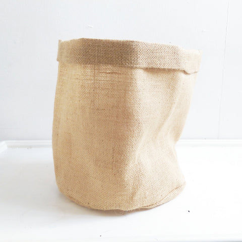 Plain Hessian Eco Pot