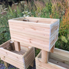 Premium Wooden Planter Medium with Legs