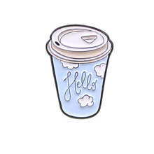 Load image into Gallery viewer, Coffee Cup Enamel Pin