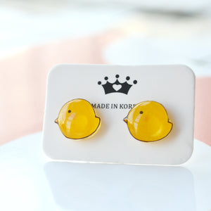 Cute Chicken Designer Stud Earrings