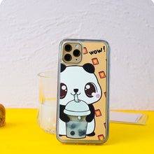 Load image into Gallery viewer, Panda and Cat iPhone Case